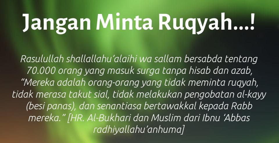 Bacaan Ruqyah Tolak Jin Santet dll